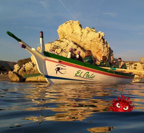Fuera de la barca, bicho!